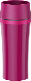 Travel Mug Fun framboos/roze