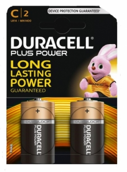 Batterij Duracell Plus Power C