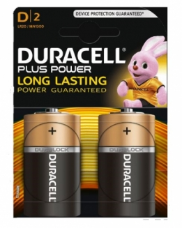 Batterij Duracell Plus Power D