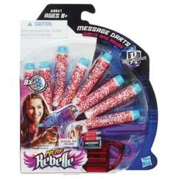 Nerf Rebelle Code Red Message Dart Refill