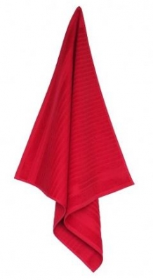 Keukendoek Solid Red