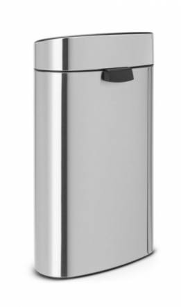 Afvalbak Touch bin new recycle 10 +23l matt steel fingerprint proof brabantia