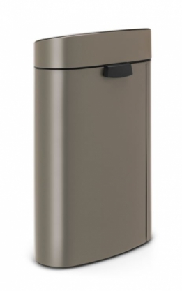 Afvalbak Touch Bin New Recycle 10 +23l Platinum Brabantia