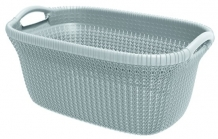 Wasmand Curver Knit 40L Misty Blue