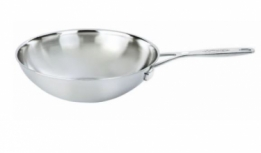 Wok Industrie RVS 5 laags 30cm